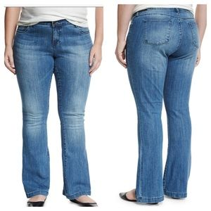 EUC KUT From The Kloth Chrissy Flare Jeans Plus 18
